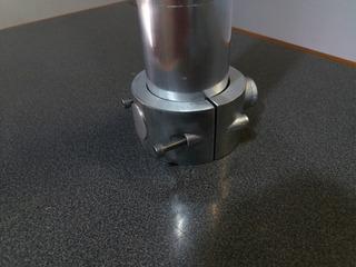 Clamp Abrasadera Aluminio 2.5 Pulgadas. Wakeboard