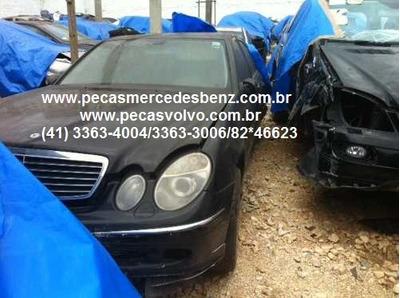 Mercedes E320 E350 E500 Sucata Em Peças/motor/cambio/farol