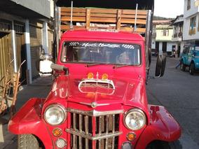 Jeep Willys Camioneta Estacas