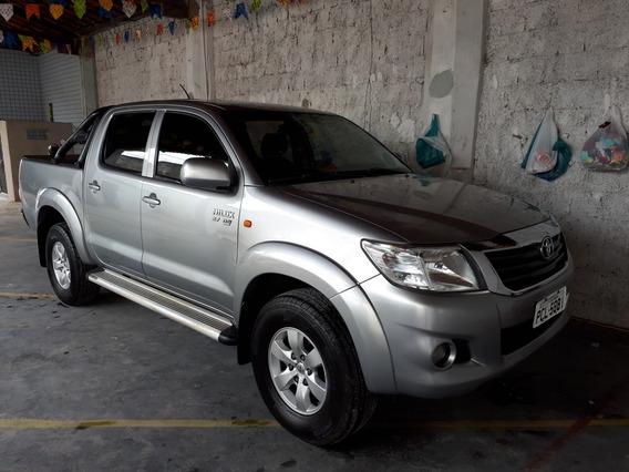 Toyota Hilux 2.7 Sr Cab. Dupla 4x2 Flex Aut. 4p 2015