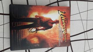 Indiana Jones Y El Reino De La Calavera De Cristal Steelbook