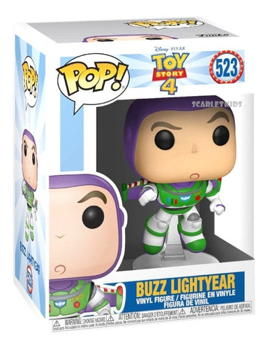 Funko Pop! Toy Story 4 Buzz Lightyear 523 Orig Scarlet Kids