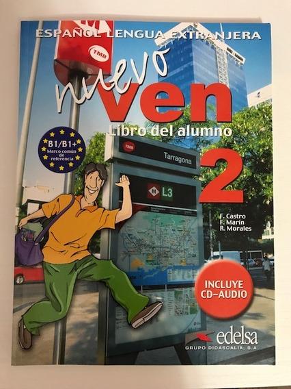 Nuevo Ven 2 Livro Do Aluno (com Cds De Áudio)