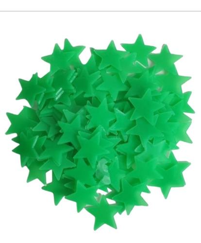 Estrellas Fluorescentes Para Techo X 100 Unidades