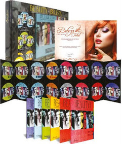 Box Beauty Beleza Curso Profissionalizante 16 Dvd + Brinde