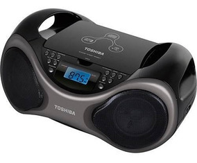 Rádio Portátil Toshiba Boombox Tr7050 Cd Rádio Fm Usb Vitrin