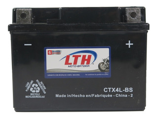 Bateria Gel Moto Ytx4l-bs Ctx4l-bs Lth