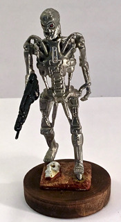 Terminator T 700 Figura Prototipo Exclusivo De La Pelicula
