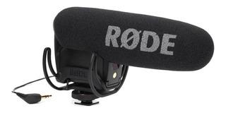 Micrófono con accesorios Rode VideoMic Pro condensador negro