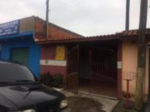 Ótima Casa Com Garagem Para 3 Carros - Itanhaém 5372   Npc