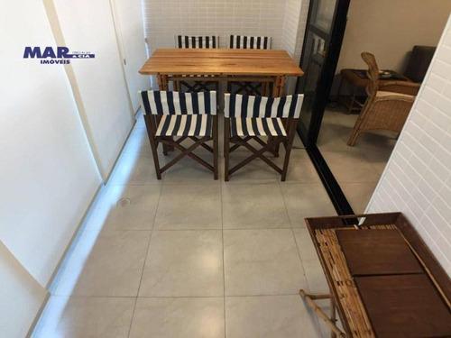 Imagem 1 de 9 de Apartamento Residencial À Venda, Centro, Guarujá - . - Ap10225