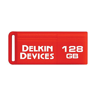 Delkin Pocketflash Usb 3.0 Flash Drive, 128gb