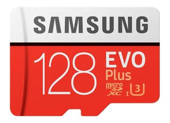 Cartão Samsung Microsd Original Sdxc Evo 128gb 100mb/s