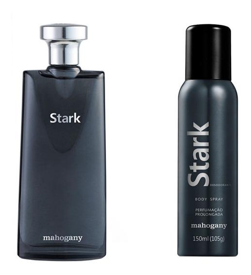 Kit Mahogany Stark: Colonia E Desodorante