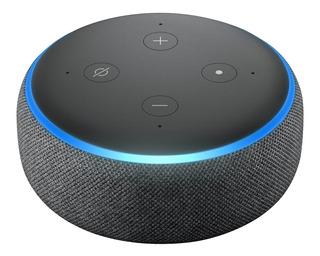 Speaker Amazon Alexa Echo Dot 3 Geração Assistente Virtual
