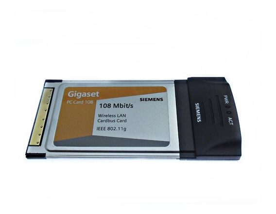 Placa Pc Card Para Notbook Siemens Gigaset 108mbits Hym3633