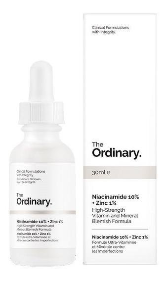 The Ordinary Niacinamide 10% + Zinc 1% Niacinamida