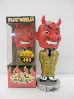 Funko El Diablo - Gold Suit Version Wacky Wobbler Exclusive