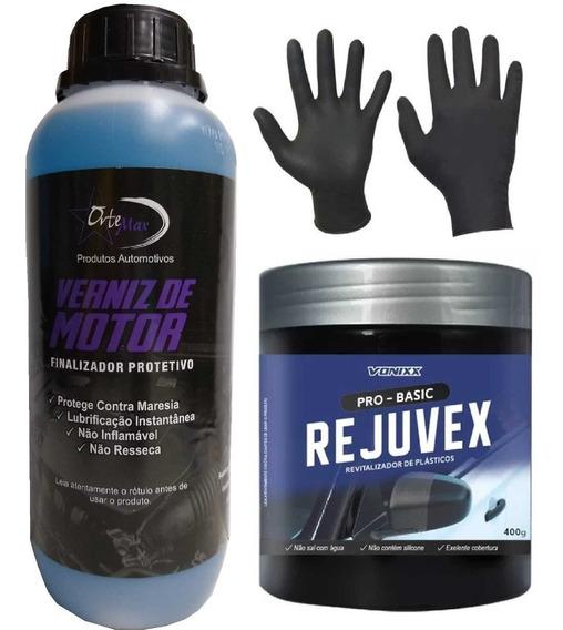 Verniz De Motor Ortemax 01l + Rejuvex Vonixx 400 Gr + Brinde