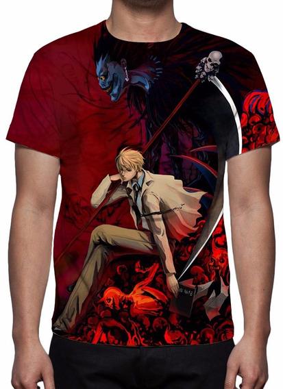 Camisa, Anime Death Note Mod 05 - Estampa Total