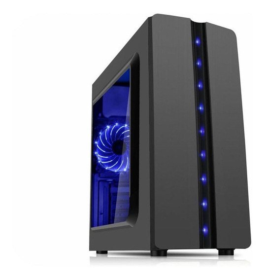 Pc Gamer Core I7 4790 4ºger 16gb Ssd480 Radeon Rx550 Novo