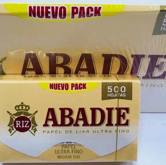 Abadie X 500 Hojas Papel De Liar Ultra Fino Local Once