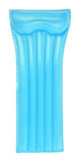 Colchoneta Inflable Individual Deluxe De Colores