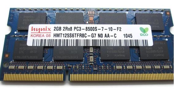 Memorias Sodimm Ddr3 2gb 1066mhz Pc3 8500 Mac/notebook Gtia. Super Compatibles. Zona Norte.