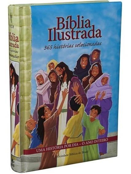 Bíblia Infantil Ilustrada - 365 Histórias Selecionadas