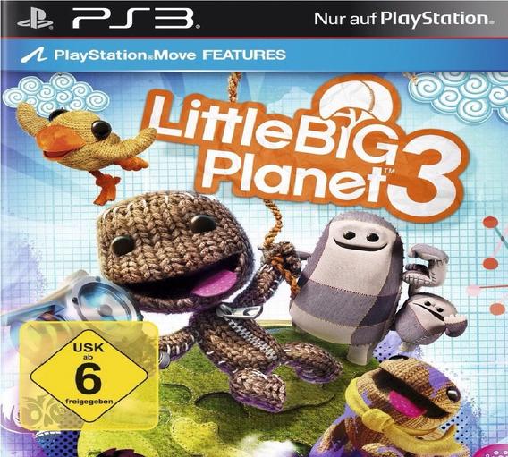 Jogo Ps3 Littlebig Planet 3 Psn Ptbr Game Littlebigplanet 3