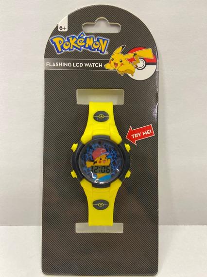 Reloj Pulsera Pokemon Pikachu Watch Con Luces