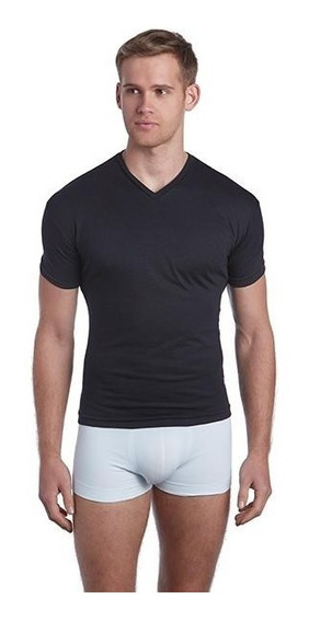 3 Playeras Polo Club Cuello V, Tacto Suave