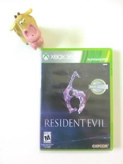 Resident Evil 6 Xbox 360 Garantizado