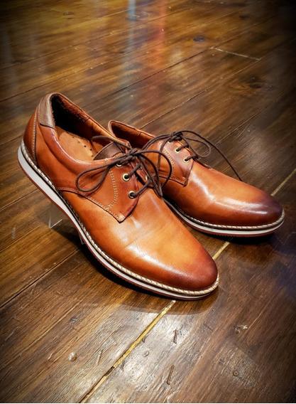 Zapato Urbano Zapatilla Calzado De Cuero