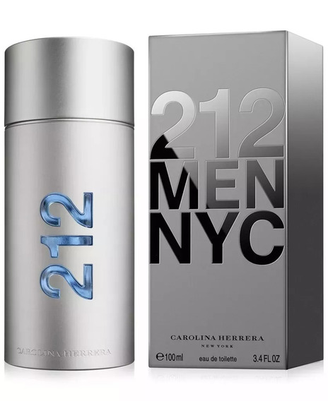Perfume Carolina Herrera 212 Men Nyc Eau De Toilette