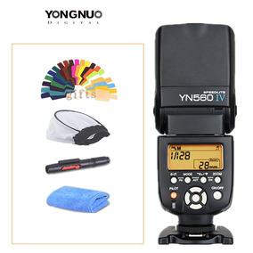 Novo Flash Yongnuo Yn 560 Iv + Difusor Para Canon Nikon