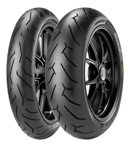 Pneus 180/55-17 120/70-17 Pirelli Hornet Diablo Rosso 2 Par