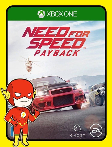 Need For Speed Payback Xbox One 25 Dígitos (envio Flash)
