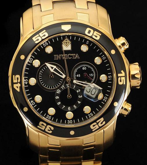 Relógio Invicta Pro Diver 0072 Original Dos Eua E Na Fluenzi