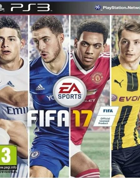 Fifa 17 Ea Sports - Ps3 Jogo Play3 Português Dublado Buy