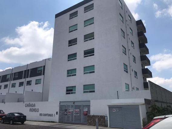 Renta Departamento Amueblado Cañadas De Lago Corregidora.