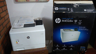 Impresora Multifunción Hp Color Laser Jet Pro M452 Dw