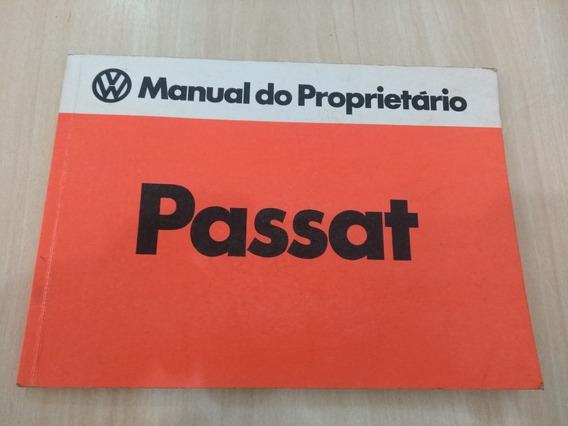 Manual Proprietário Passat Ls 77 Original