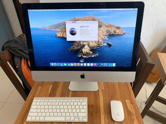 iMac 2015 21,5 I5 8gb 1,5gb Vídeo Ssd 480gb