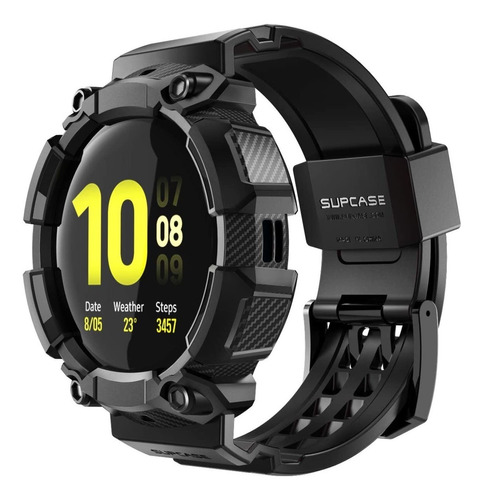 Funda Malla Supcase Galaxy Watch Active 2 40mm Army Negro