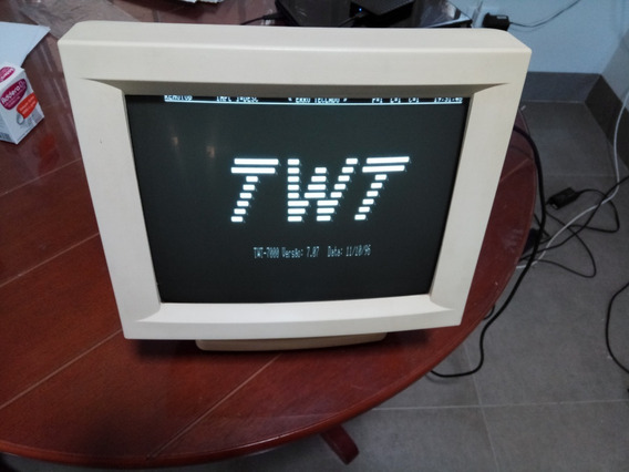Monitor Monocromático Terminal Twt-7000 Waytec