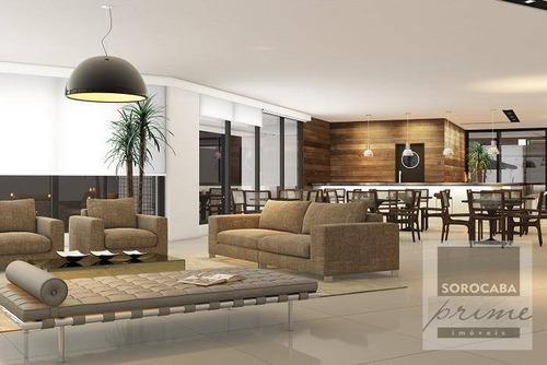 Andar Corporativo À Venda, 410 M² Por R$ 2.560.000 - Edifício Millenia Exclusive Offices - Sorocaba/sp. - Ac0008