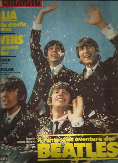 Manchete 1982.os Beatles.pouso Alegre.farah Diba.italia Mafi