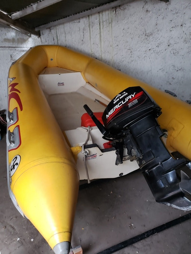 Semirrigido 4.5 Motor Mercury 32hp
