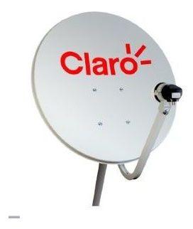 Antena Mini Parabolica 60cm Claro Tv 60cm